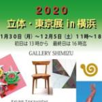 2020立体・東京展in横浜